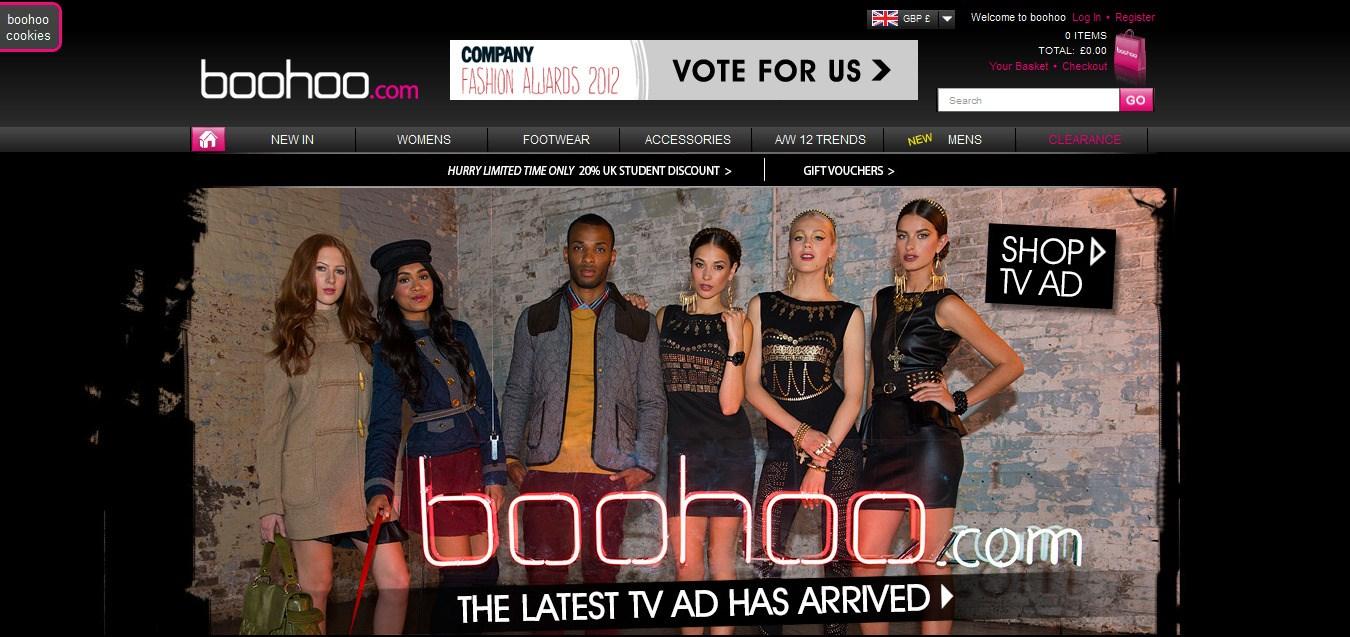 ab086e15919 Boohoo.com Sets Sights on USA Market | WEAR IT/dublin