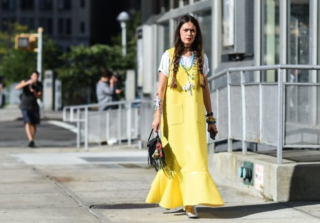 Street Style - September 2016 New York Fashion Week - Day 4